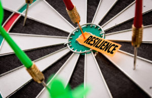Resilience on the dart board